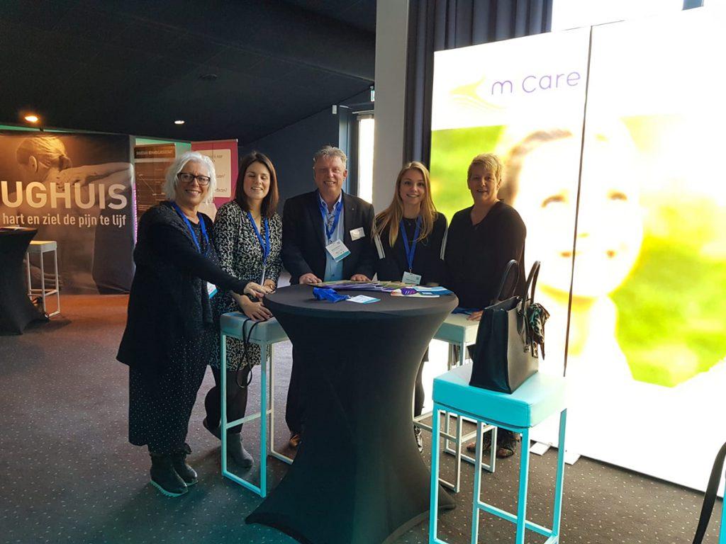 Team Micare tijdens het Wenckebach Symposium 2018enckebach Su