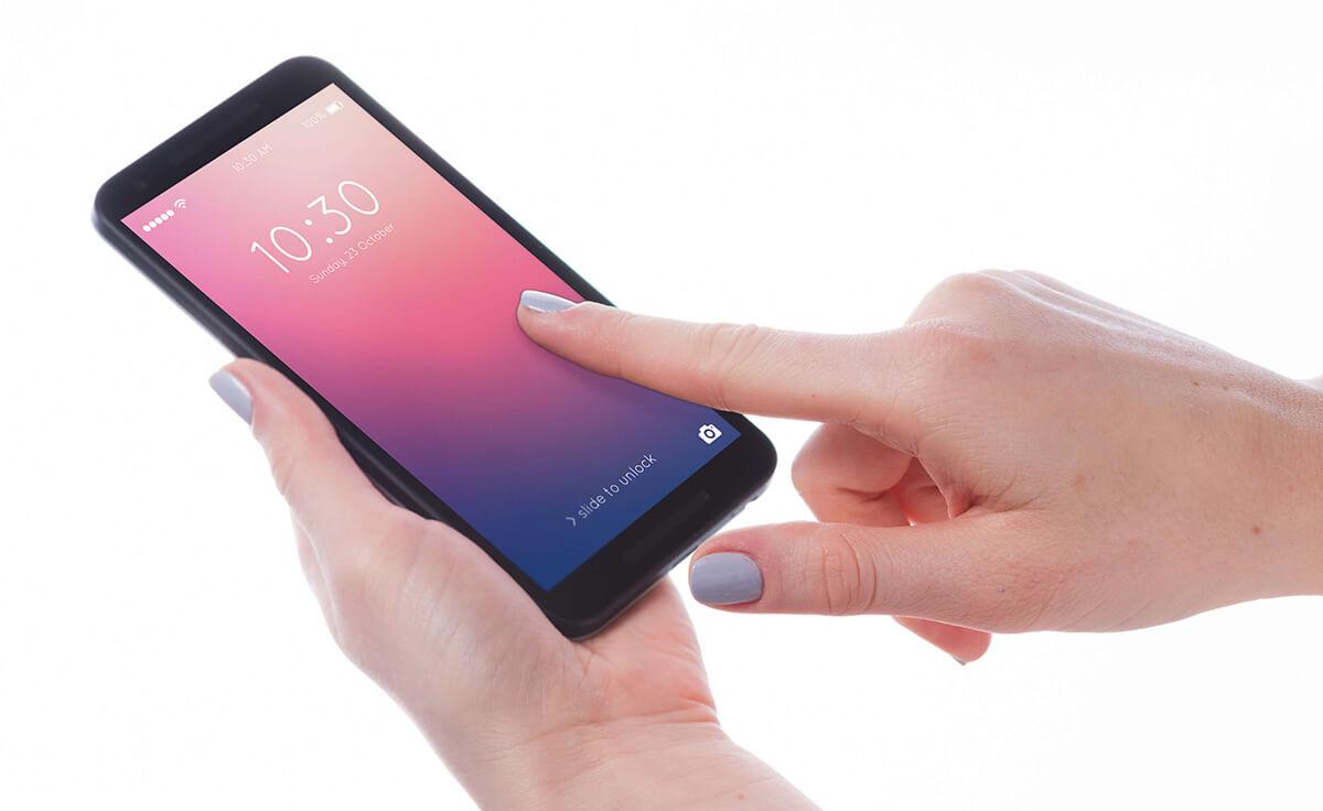 KANS-klachten bij smartphonegebruik